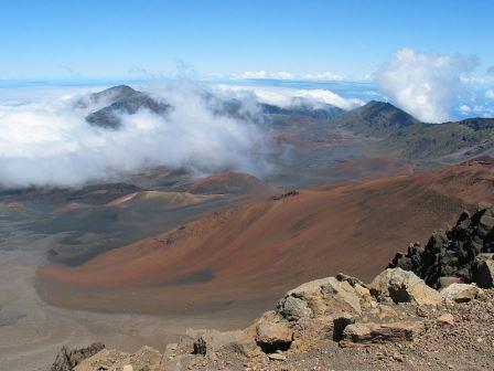 Haleakal? crater