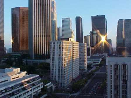 Financial District of Downtown Los Angeles