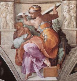 The Libyan Sybil, Sistine Chapel