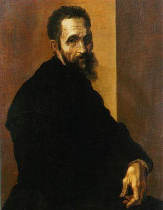 Michelangelo by Jacopino del Conte