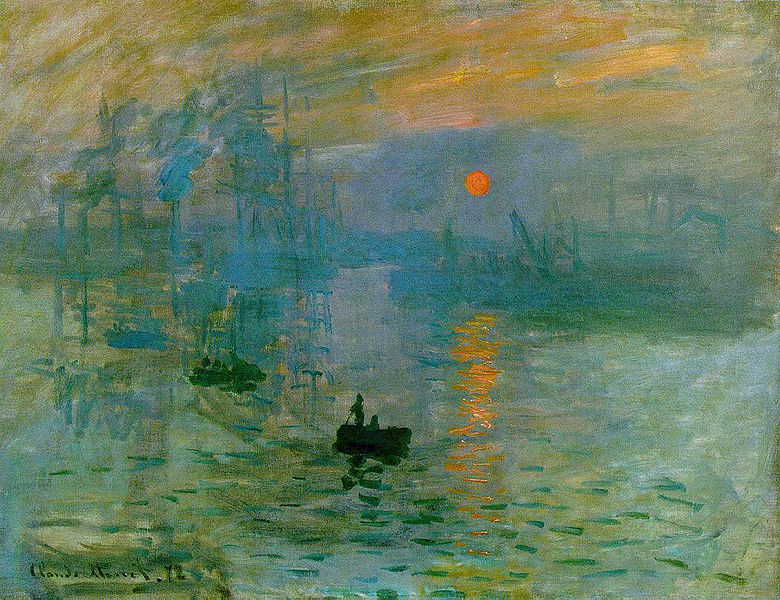 Impression, Sunrise (Impression, soleil levant), Claude Monet