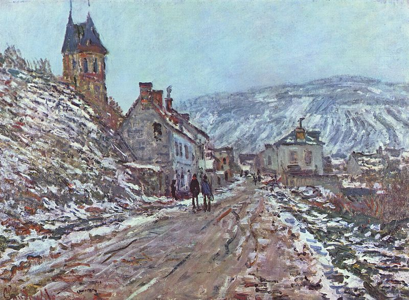 Claud Monet Street in Vetheuil
