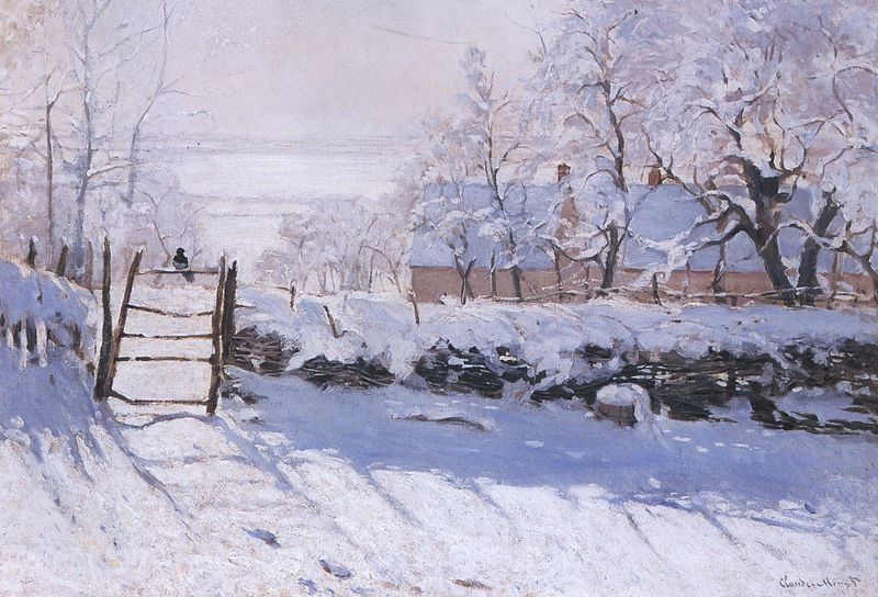 The Magpie, Claude Monet
