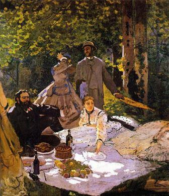 Déjeuner sur l'herbe by Claude Monet