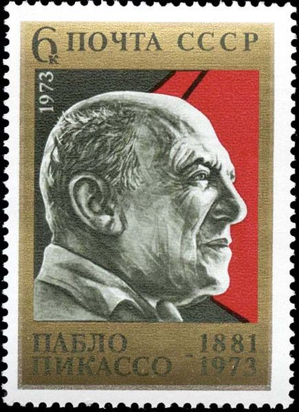 Picasso  Postage stamp, USSR