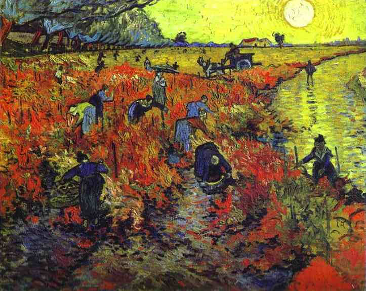 The Red Vineyard van Gogh