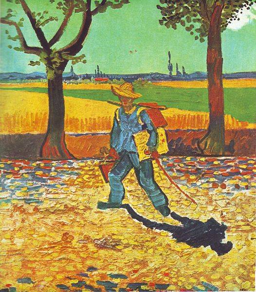 Painter on the Road to Tarascon Vincent van Gogh