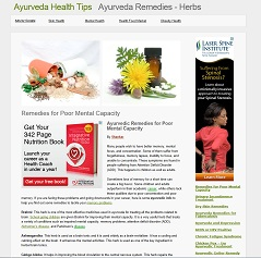 Ayurveda health tips