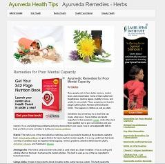 Ayurveda health tips